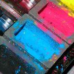 limpiar el toner del interior de la impresora